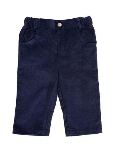 Вельветовые брюки синие