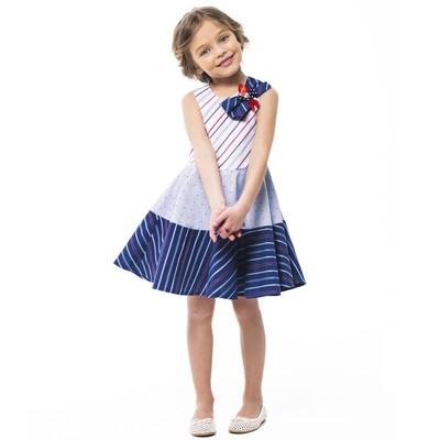 Платье с бантом для девочки