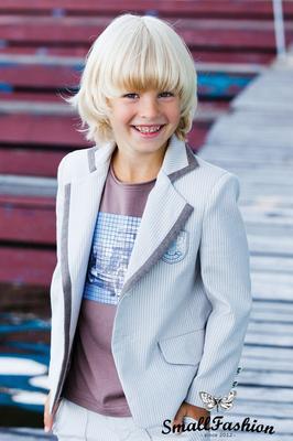 Пиджак светло-кофейного цвета