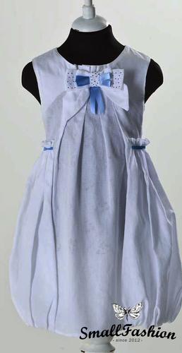 Платье-баллон с накладными карманами