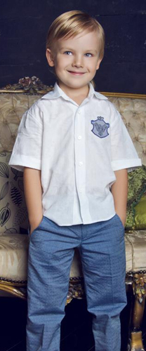 Рубашка с шевроном