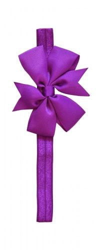 Фиолетовая повязка с бантиком the hip