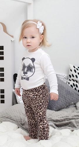 Леопардовые штанишки для девочки the hip