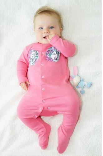 Розовый комбинезон для девочек the hip