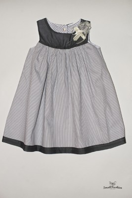 Платье в полоску для девочки